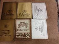 1982 GM Cadillac Deville Brougham Service Shop Repair Workshop Manual Set W LOTS