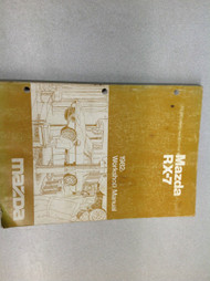 1982 Mazda RX7 RX 7 Service Workshop Repair Shop Manual OEM 1982 Book
