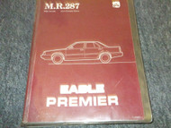 1988 Eagle Premier Service Shop Repair Workshop Manual FACTORY OEM BOOK 88