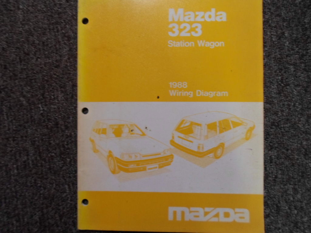1988 Mazda 323 Electrical Wiring Diagram Troubleshooting