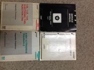 1991 Dodge DAKOTA TRUCK Service Repair Shop Manual Set W Diagnostic Books OEM