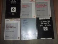 1991 Dodge Dakota TRUCK Service Repair Shop Manual SET W TECH BULLETINS + MORE