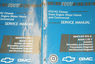 1997 GM Chevy GMC P32/42 Chassis Service Repair Shop Workshop Manual Set OEM