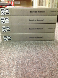 2013 Chevy Chevrolet SPARK Service Shop Repair Manual SET NEW OEM BOOK