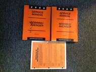 2000 DODGE AVENGER & CHRYSLER SEBRING Service Shop Repair Manual Set 2 W Recall