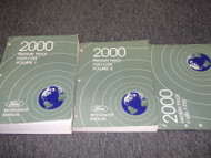 2000 Ford F-650 750 Medium Truck Service Shop Repair Workshop Manual Set W EWD