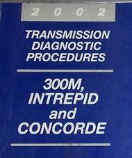 2002 DODGE 300M INTREPID CHRYSLER CONCORDE LHS Transmission Diagnostic Manual