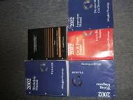 2002 Mercury Villager Service Shop Repair Manual SET W PCED + EWD OEM HUGE