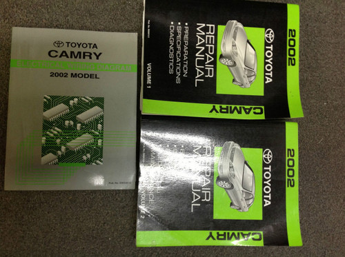 2002 Toyota Camry Service Shop Repair Workshop Manual Set