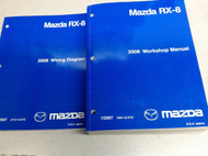 2008 Mazda RX-8 RX8 Service Repair Shop Workshop Manual Set W EWD OEM