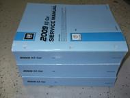 2009 GM Cadillac DTS D T S Service Repair Shop Workshop Manual Set FACTORY NEW