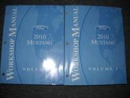 2010 FORD MUSTANG GT COBRA MACH Service Shop Repair Workshop Manual Set OEM