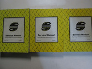 Workhorse Front Engine Motorhome & Commercial Service Manual 3 Volume Set Used