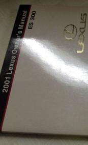 2001 LEXUS ES300 ES 300 Owners Manual FACTORY DEALERSHIP GLOVE BOX GUIDE NEW
