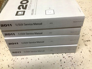 2011 CADILLAC SRX S R X Service Shop Repair Manual SET OEM BRAND NEW 11