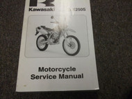 2009 Kawasaki KLX250S MOTORCYCLE Service Repair Shop Manual OEM 09 FACTORY