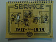 1917-1949 Harley Davidson Service Repair Shop Manual New Plastic Multiple Years