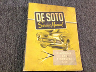 1956 Desoto Firedome Fireflite Shop Service Workshop Repair Manual NEW