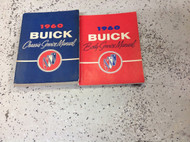 1960 Buick Electra Le Sabre Invicta All Models Service Shop Repair Manual Set GM