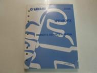 2008 Yamaha WR450FX Owners Service Repair Shop Manual FACTORY OEM BOOK 08 DEAL