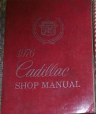 1976 Cadillac ELDORADO DEVILLE BROUGHAM FLEETWOOD Service Shop Repair Manual