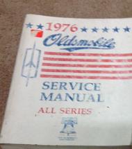 1976 GM Oldsmobile Olds All Series Service Repair Workshop Shop Manual OEM