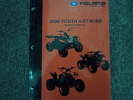 2008 Polaris YOUTH 4 STROKE 4-STROKE Shop Repair Service Manual FACTORY 08 x