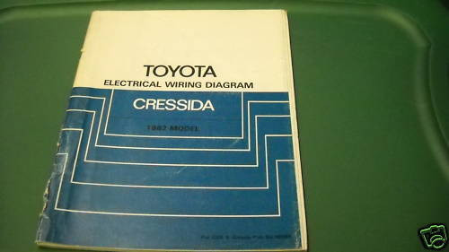 1982 Toyota Cressida Electrical Wiring Diagram