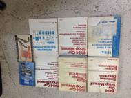 1984 FORD MUSTANG CAPRI Thunderbird Cougar Mark Service Shop Repair Manual Set