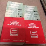 1988 CHEVY CHEVROLET CAMARO Service Shop Repair Manual Set W Electrical + Public
