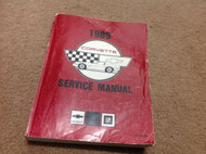 1989 GM Chevrolet Chevy CORVETTE Service Repair Shop Manual FACTORY OEM Worn