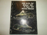 1990 Arctic Cat Wildcat 650 El Tigre EXT Service Repair Shop Manual FACTORY OEMx