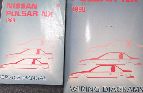 1990 Nissan Pulsar Service Repair Shop Workshop Manual Set