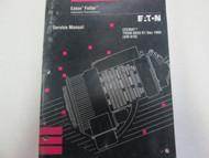 1993 Eaton Fuller CEEMAT Transmissions Service Manual Wrinkled OEM Book **