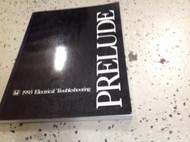 1993 HONDA PRELUDE Electrical Troubleshooting Manual ETM EWD Factory OEM