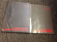 1994 Acura Vigor Electrical Troubleshooting Wiring Diagram Manual & Supplement
