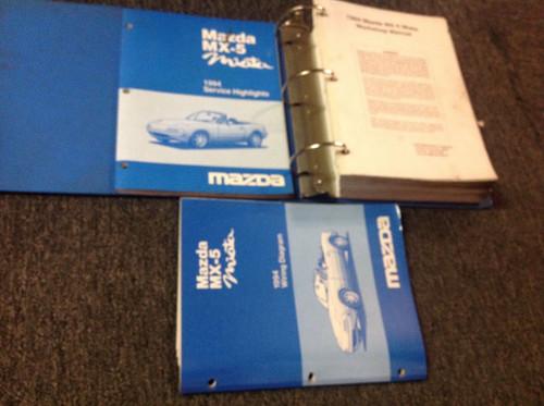 1994 Mazda Miata Mx5 Mx 5 Service Repair Shop Workshop