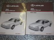 1995 LEXUS ES300 ES 300 Service Shop Repair Manual SET 2 VOLUME FACTORY OEM 1995