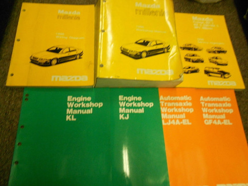 1996 Mazda Millenia Service Repair Workshop Shop Manual