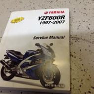 1997 1998 2000 2005 2007 Yamaha YZF600R Repair Workshop Shop Service Manual
