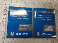 1997 Chevy GMC T-SERIES Workshop Shop Service Repair Manual Set OEM Factory GM
