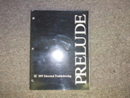 1997 HONDA PRELUDE Electrical Troubleshooting Wiring Diagrams Service Manual