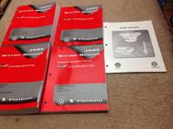 1997 GM Chevrolet Chevy Corvette Service Workshop Shop Repair Manual Set OEM +