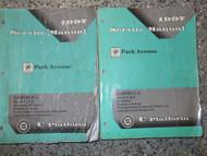 1997 GM OEM BUICK PARK AVENUE Workshop Service Shop Repair Manual SET FACTORY