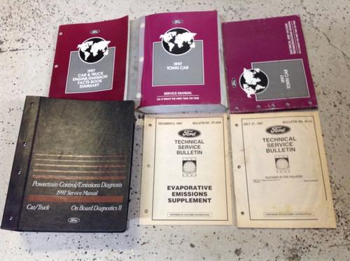 1997 Lincoln Town Car Service Shop Repair Workshop Manual