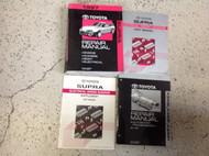 1997 Toyota Supra Service Repair Shop Workshop Manual OEM Set W EWD & Trans Bk