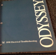 1998 Honda ODYSSEY Electrical Troubleshooting Wiring Diagram Manual OEM ETM