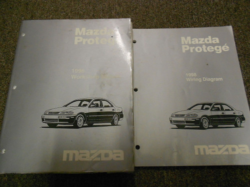 Diagram 1997 Mazda Protege Service Shop Repair Manual Set Oem Service Manual And The Wiring Diagram Manual Full Version Hd Quality Diagram Manual Kwikwiringx29 Locandadossello It