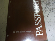 1999 HONDA PASSPORT Service Shop Repair Workshop Manual OEM FACTORY