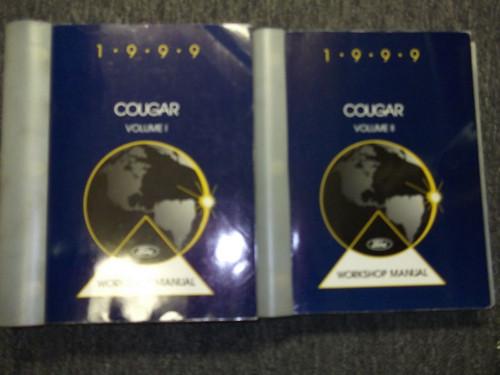1999 Mercury Cougar Service Shop Repair Workshop Manual